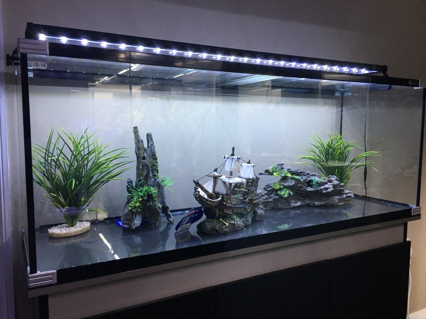 Aquariums, the new interior decor?