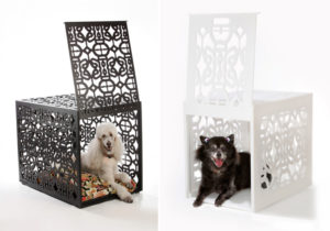 Owning Stylish End Table Dog Crates